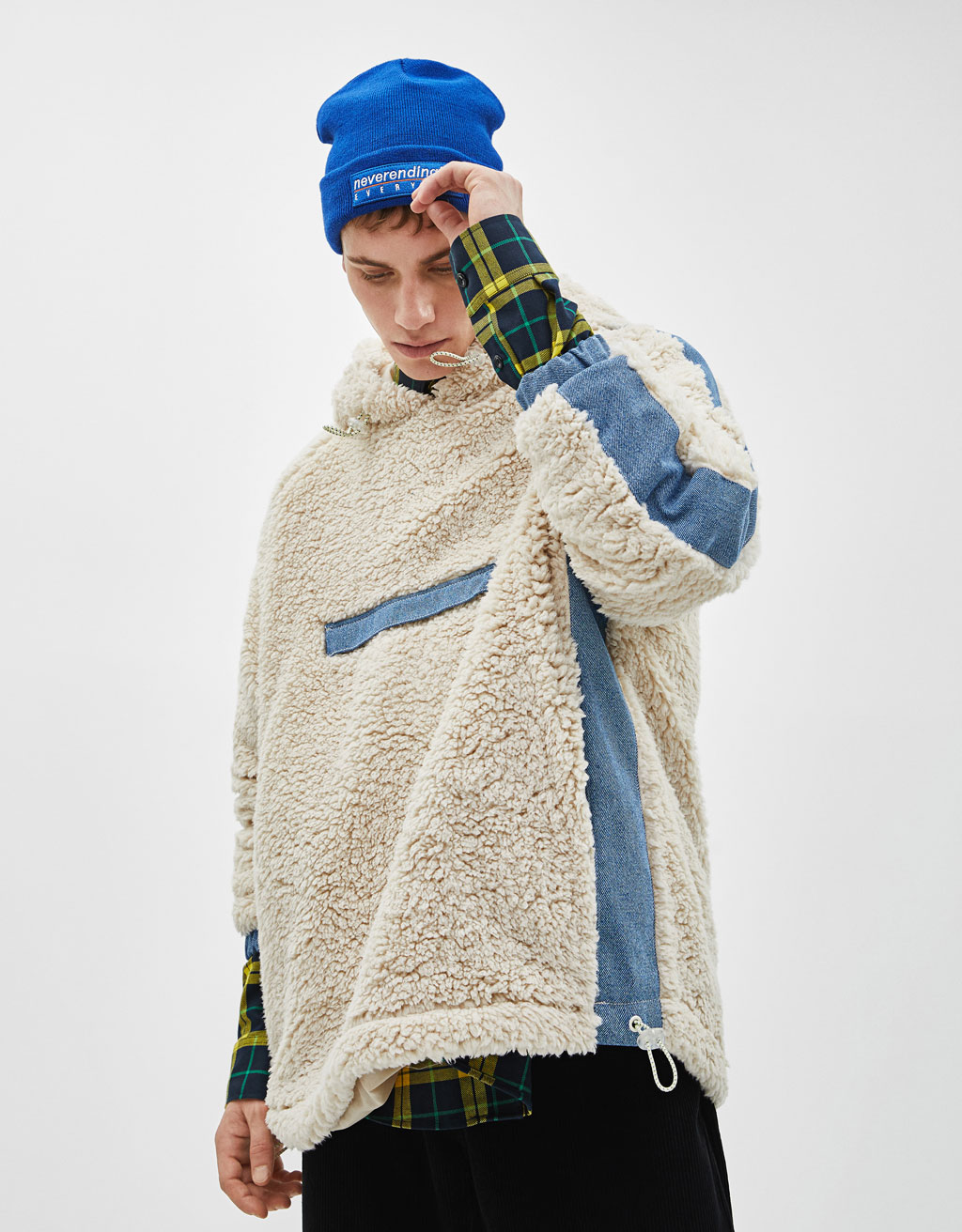 bac261fd Knit beanie - Join Life collection - Bershka United States