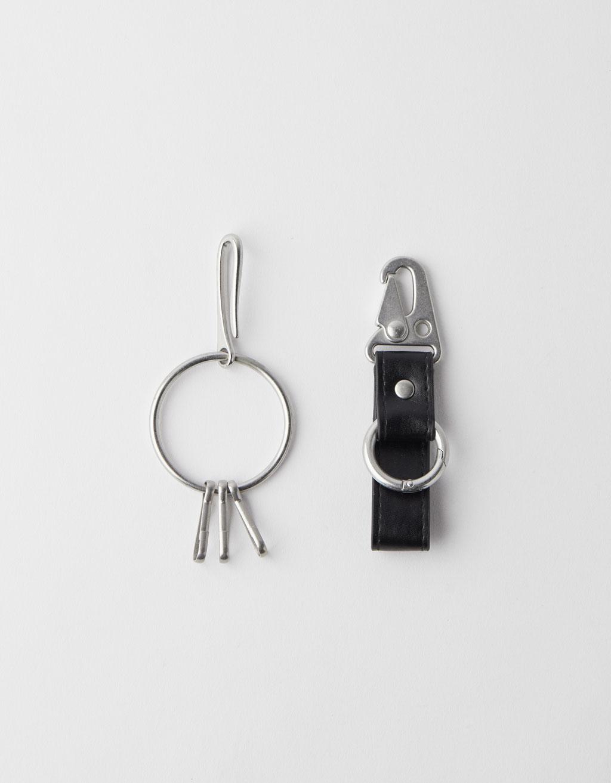 Dviejų raktų pakabukų komplektas