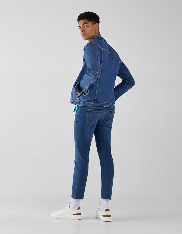 Jeansjacke im Slim-Comfort