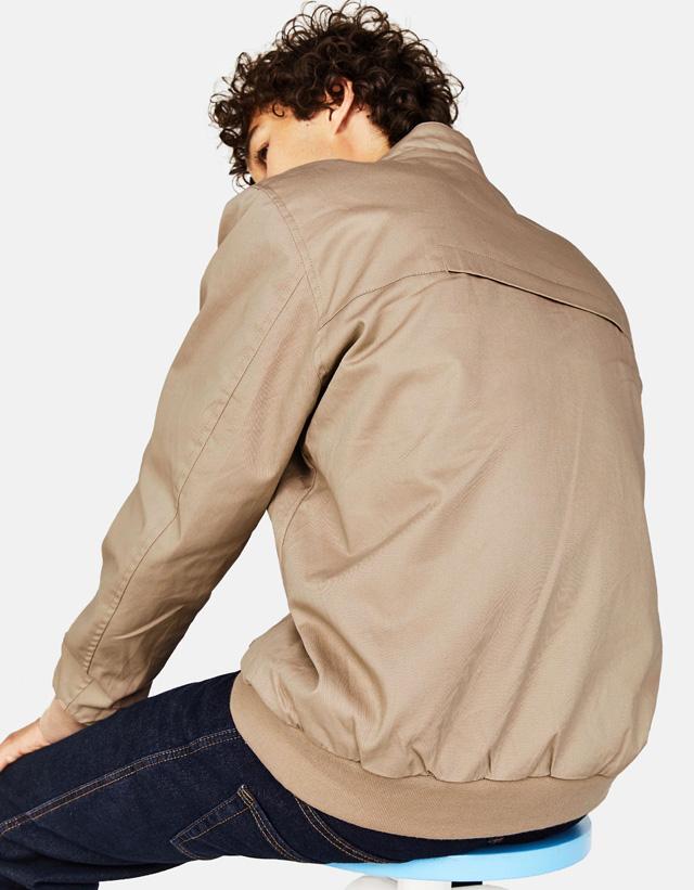 Dünne Jacke mit Reißverschluss