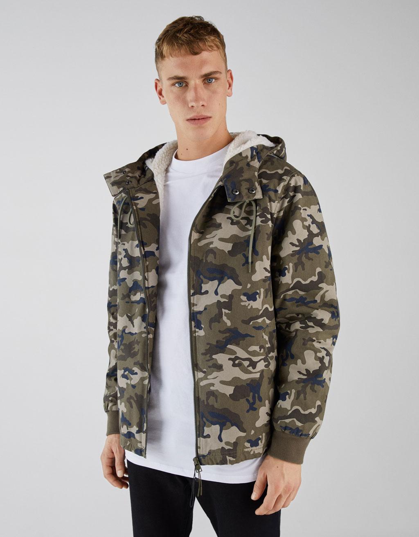 Sheepskin hoodie