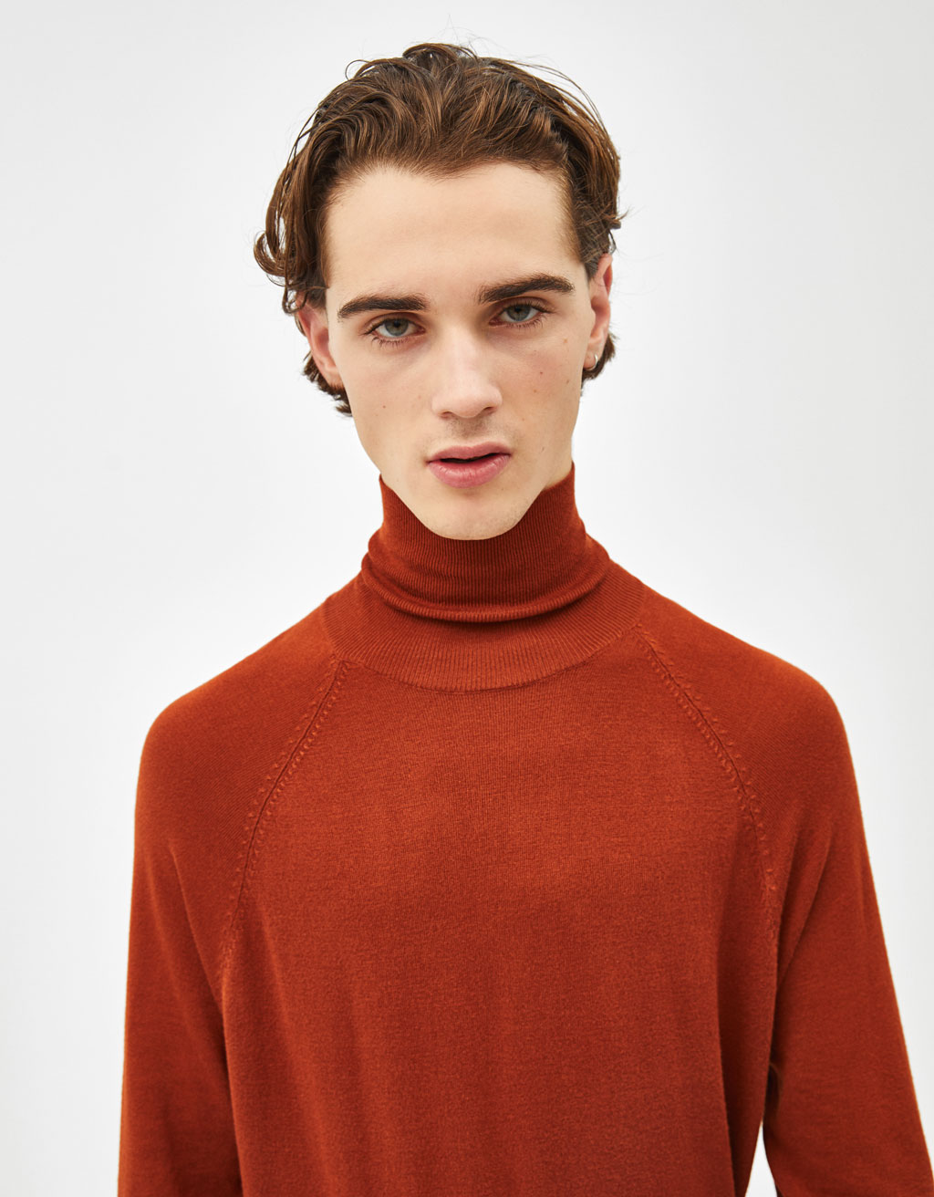 Fine turtleneck sweater