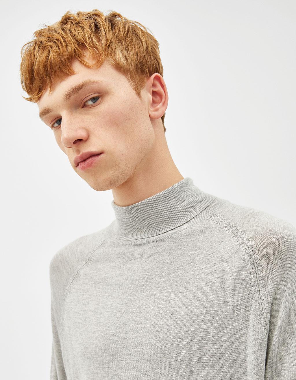 Jersey de cuello alto