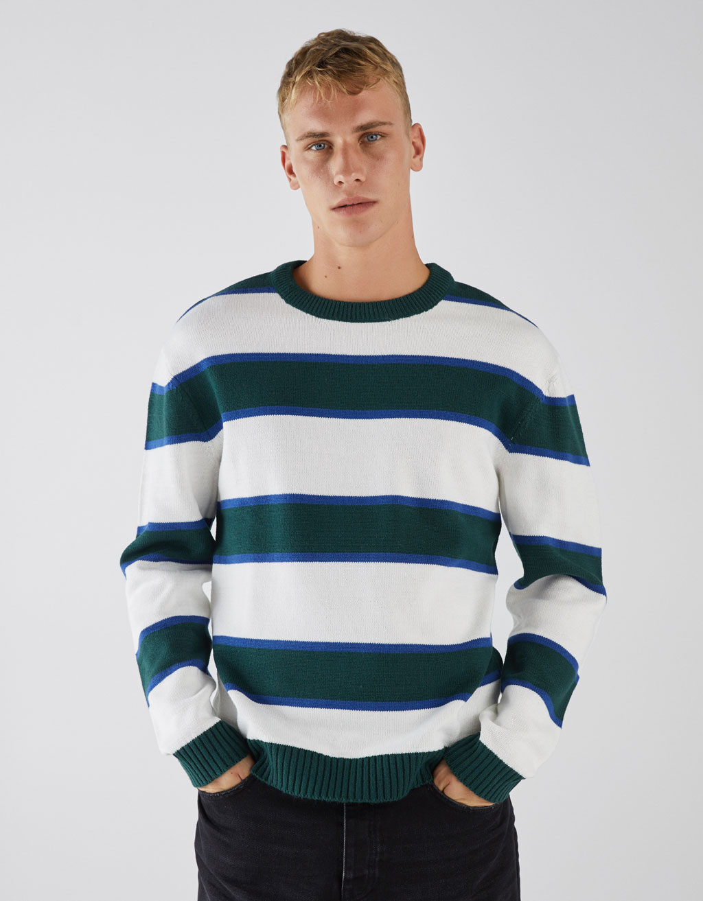 Striped retro sweater