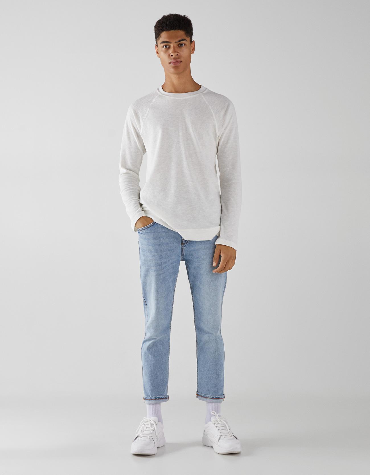 Shirt in Waffeloptik Join Life