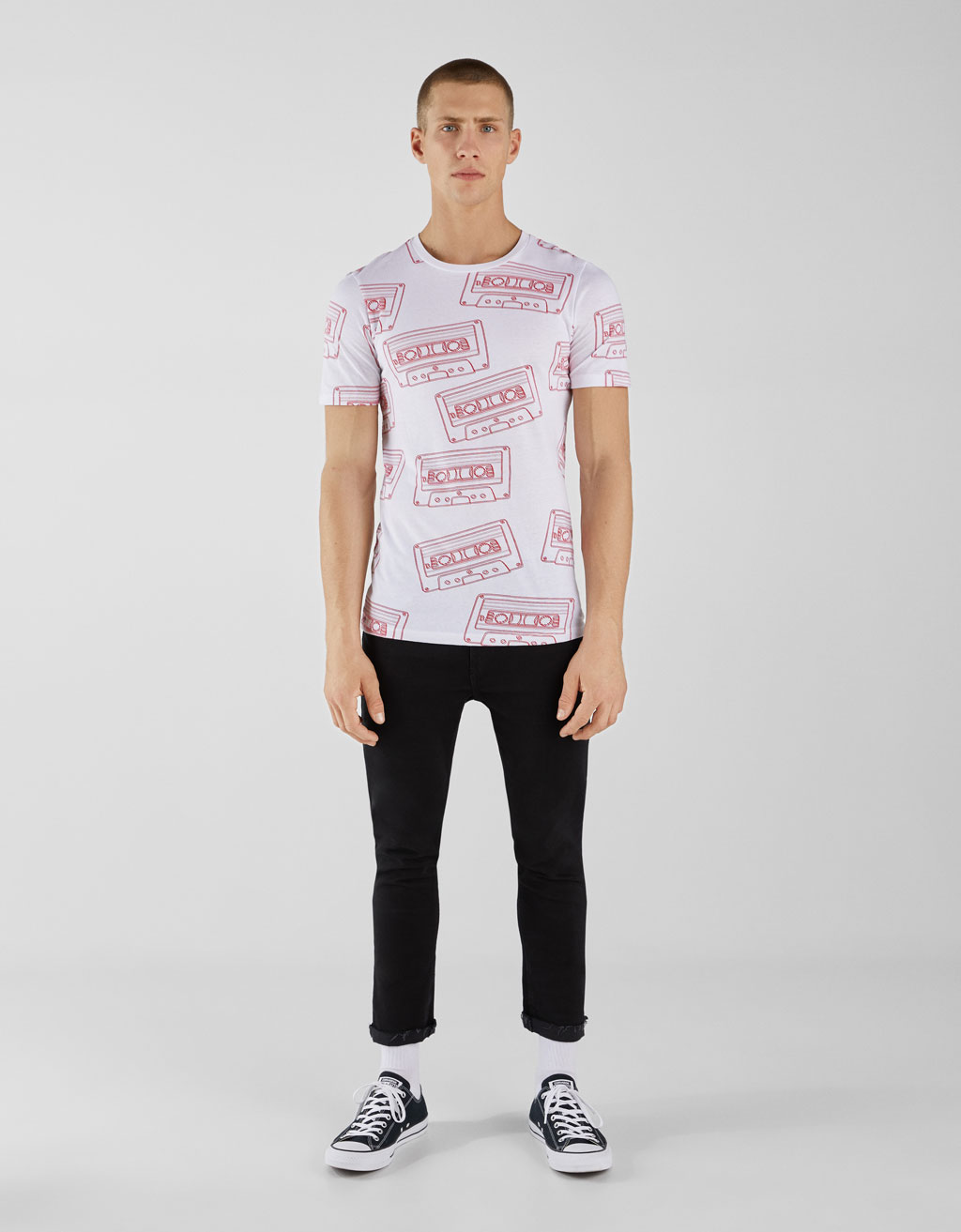 Camiseta con estampado all over