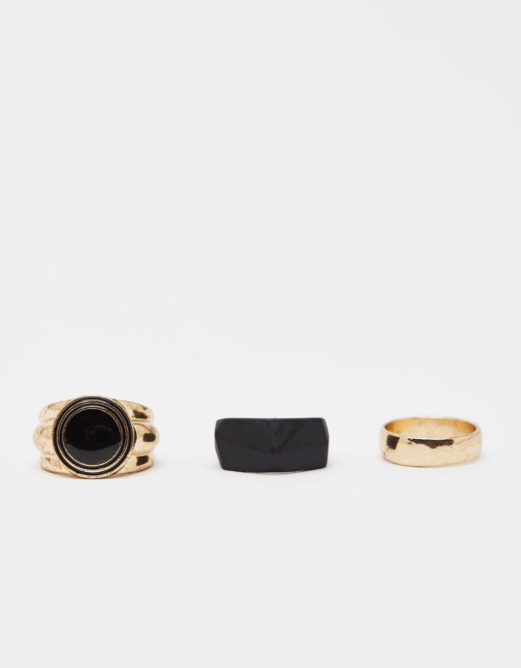 Balenie 3 prsteňov