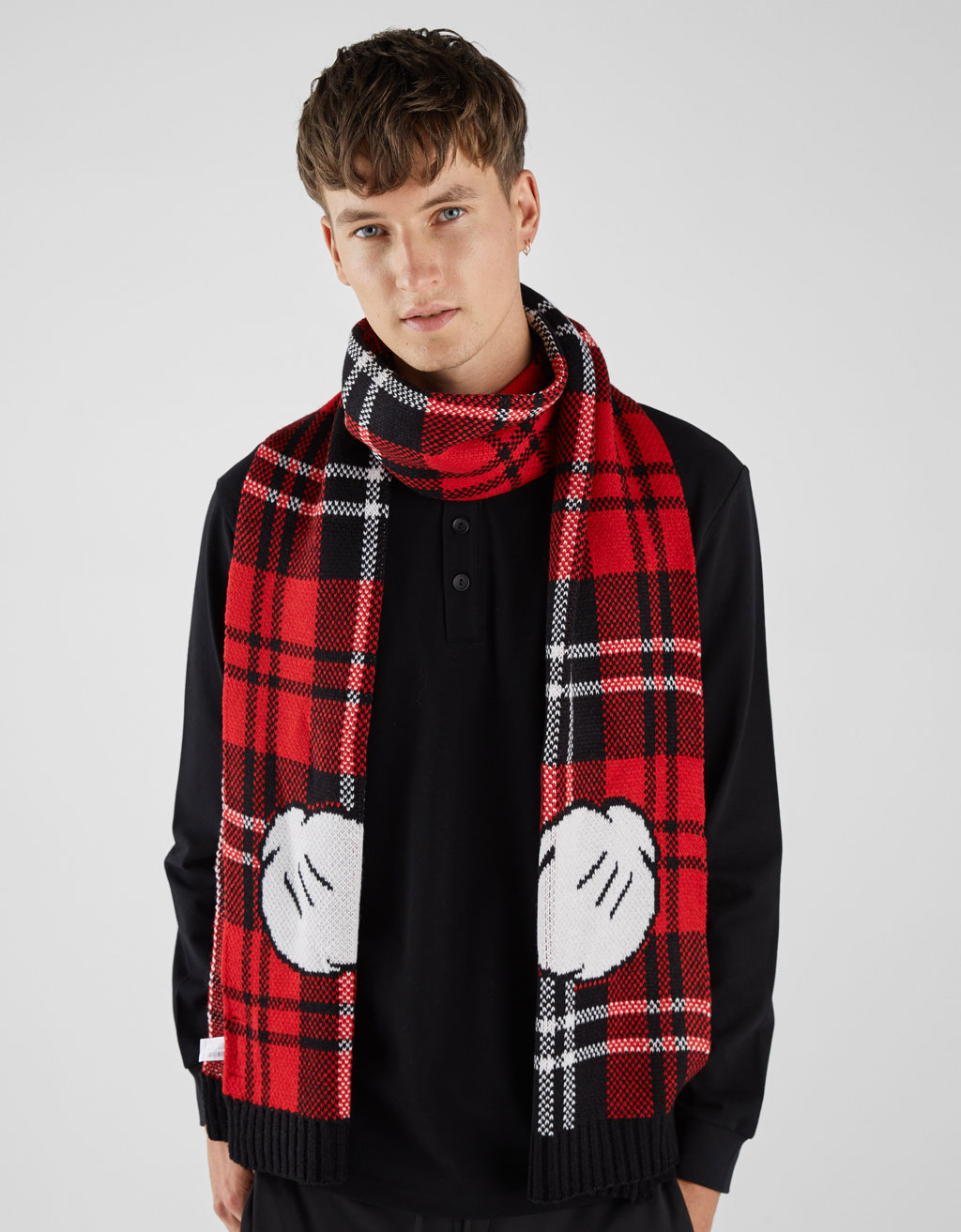 Mickey Mouse Scarf by Bershka