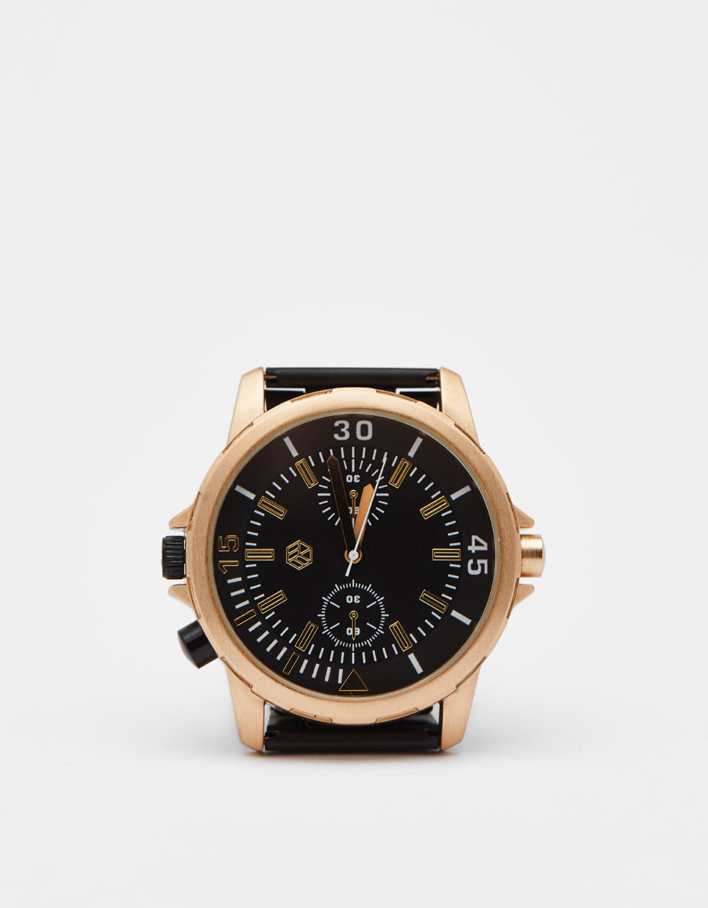 Contrast analogue watch