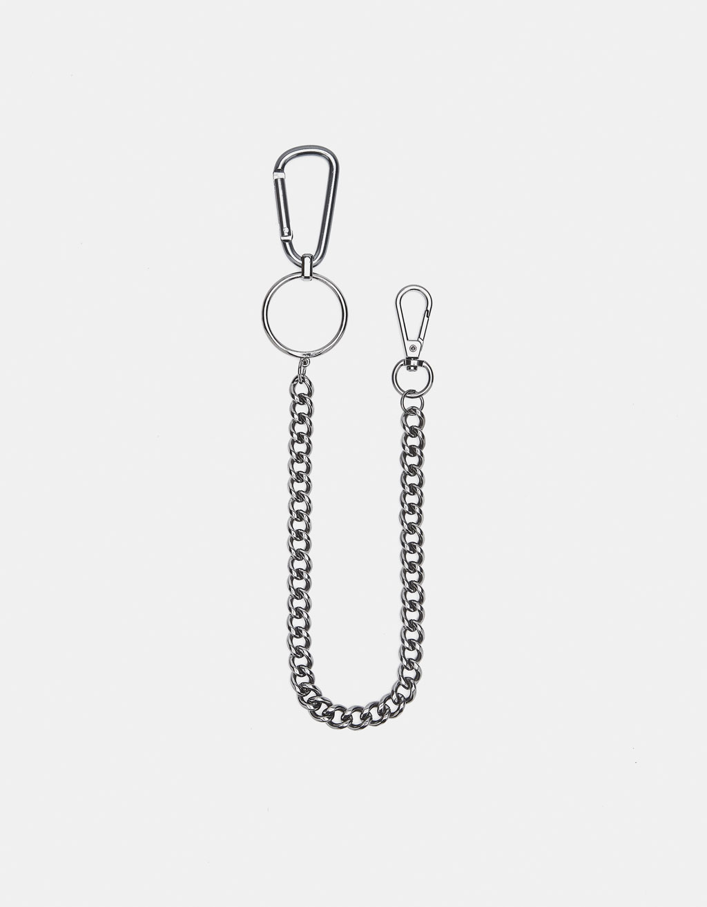 Key ring with chain