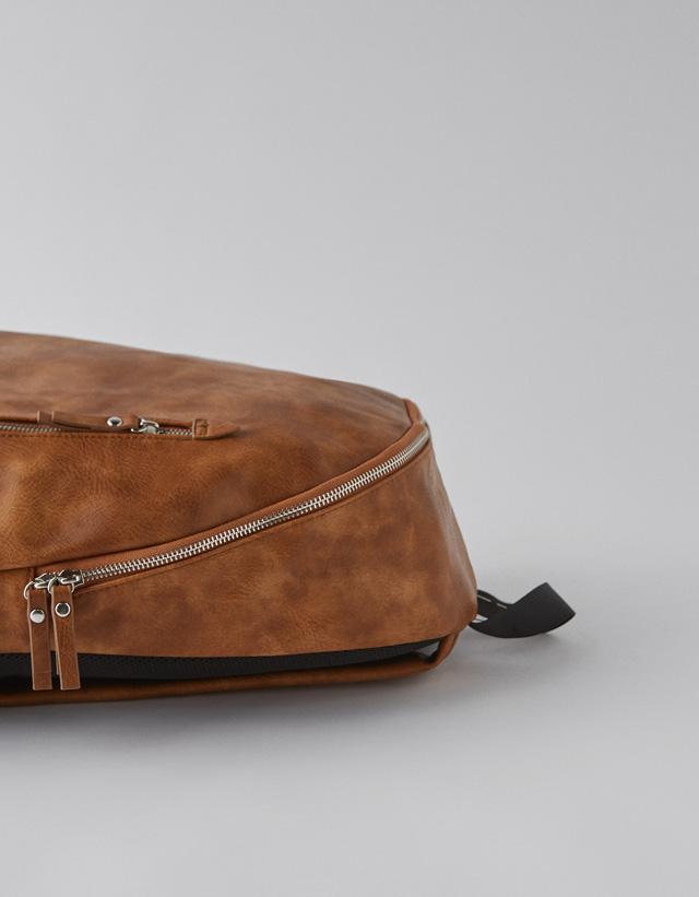 Rucksack mit Seitentasche