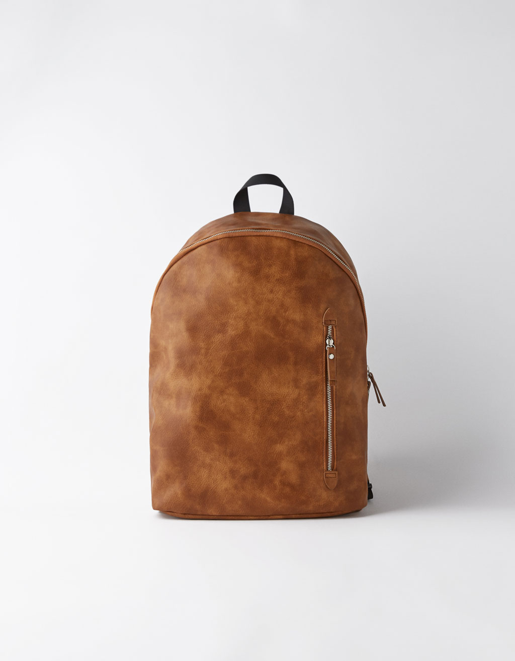 Backpack with side pocket