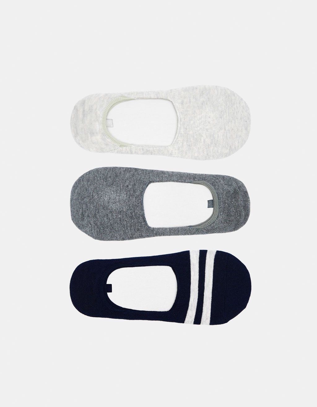 3-pack of Join Life shoeliner socks