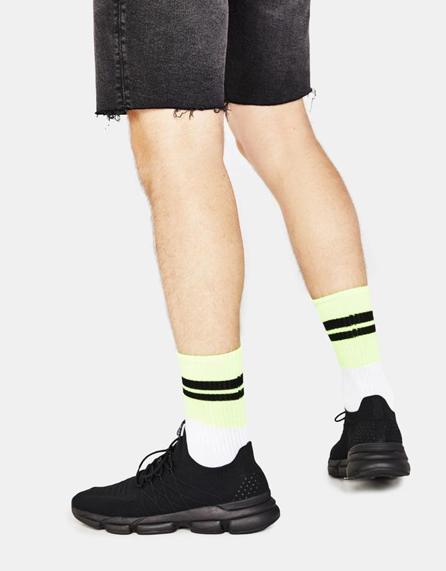 Pack Socken mit Slogan