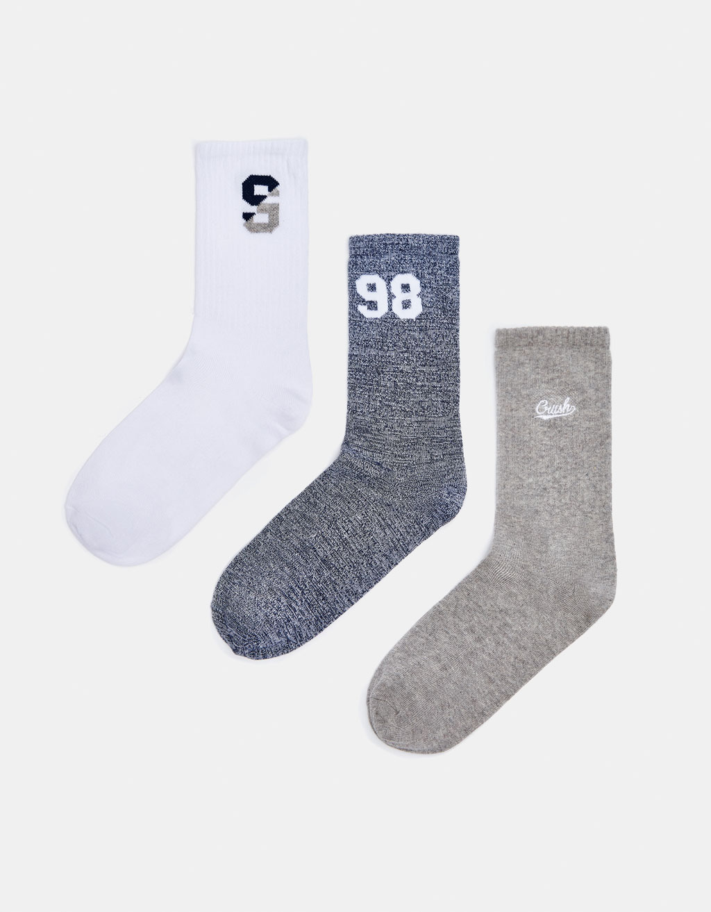 Pack of 3 old school socks