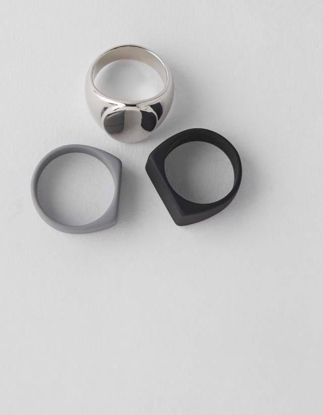 3er-Set Ringe