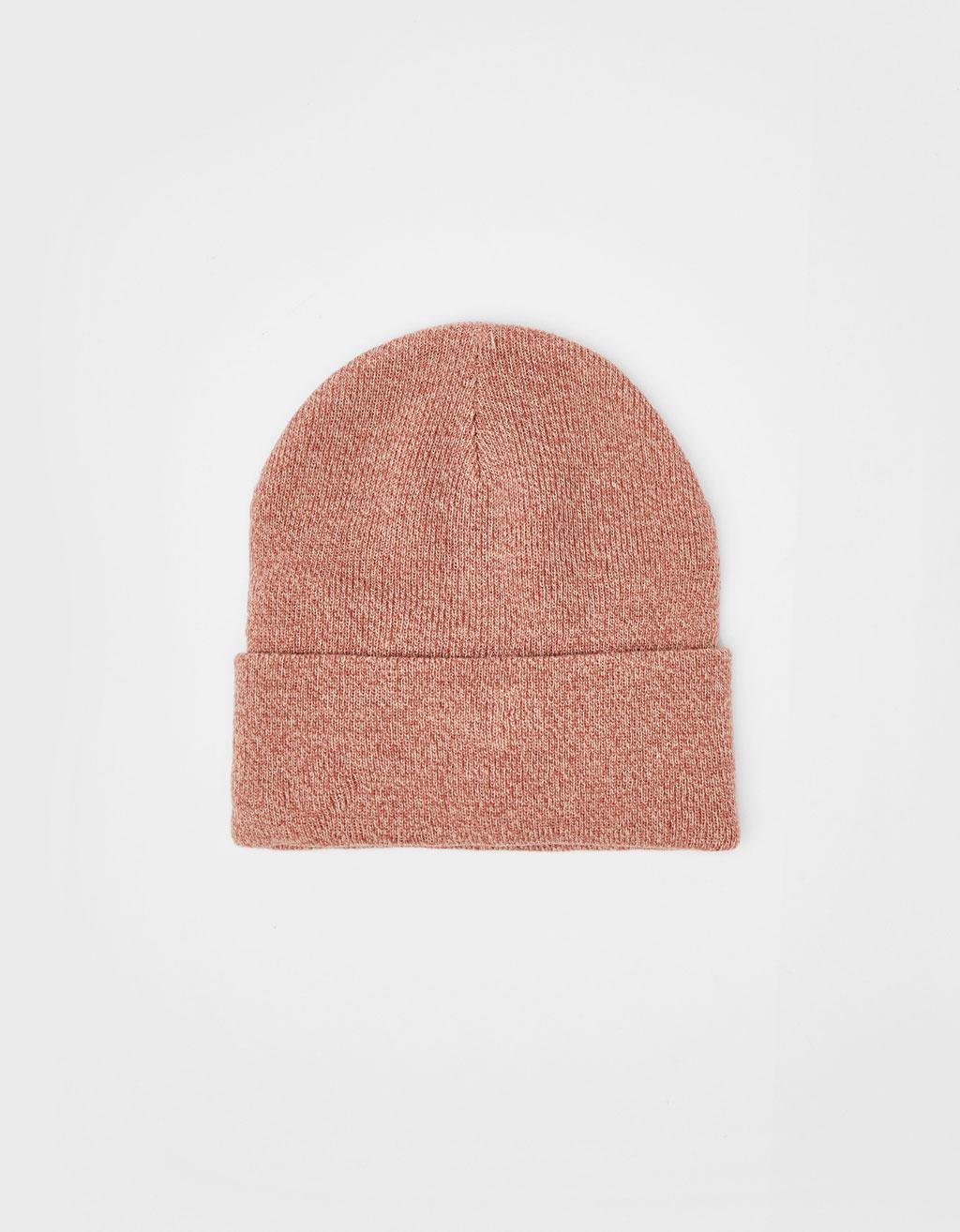 ニットビーニー帽