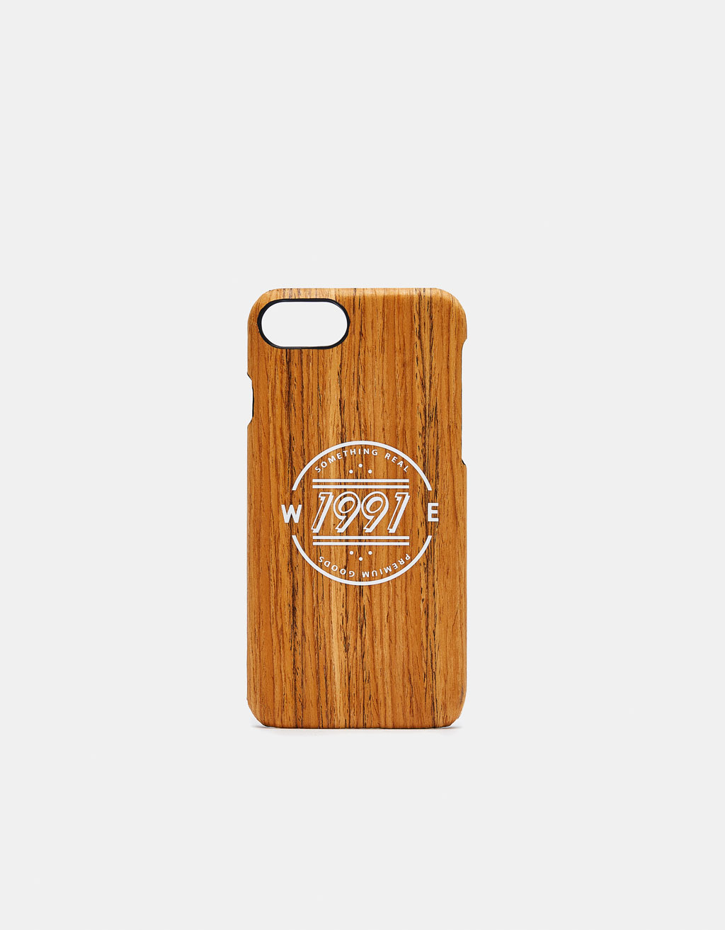 Wood-effect iPhone 6/7/8 case