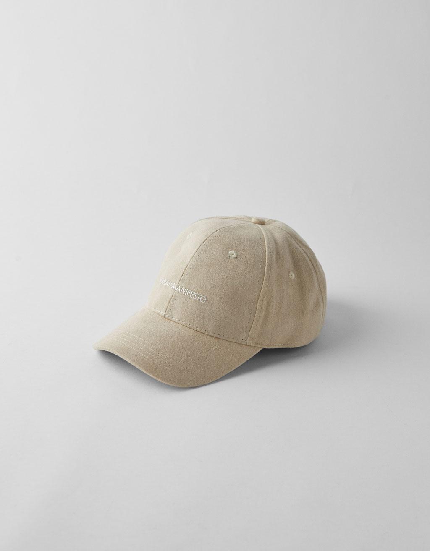Basecap aus Velours