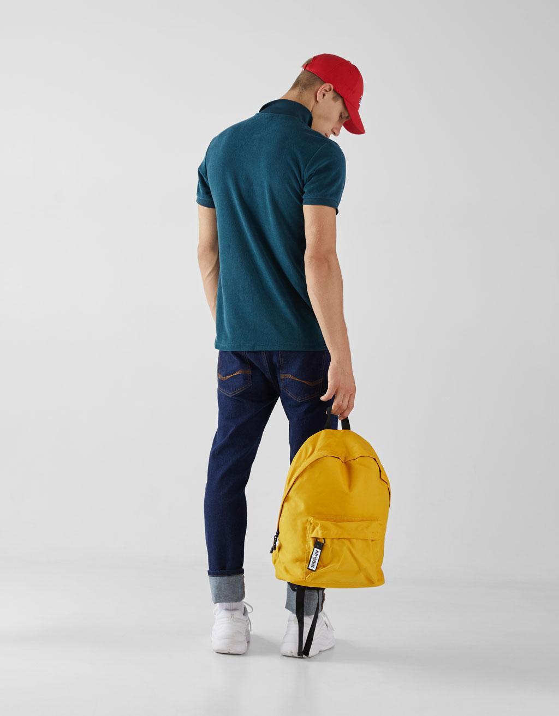 Рюкзак с декоративным бегунком на молнии