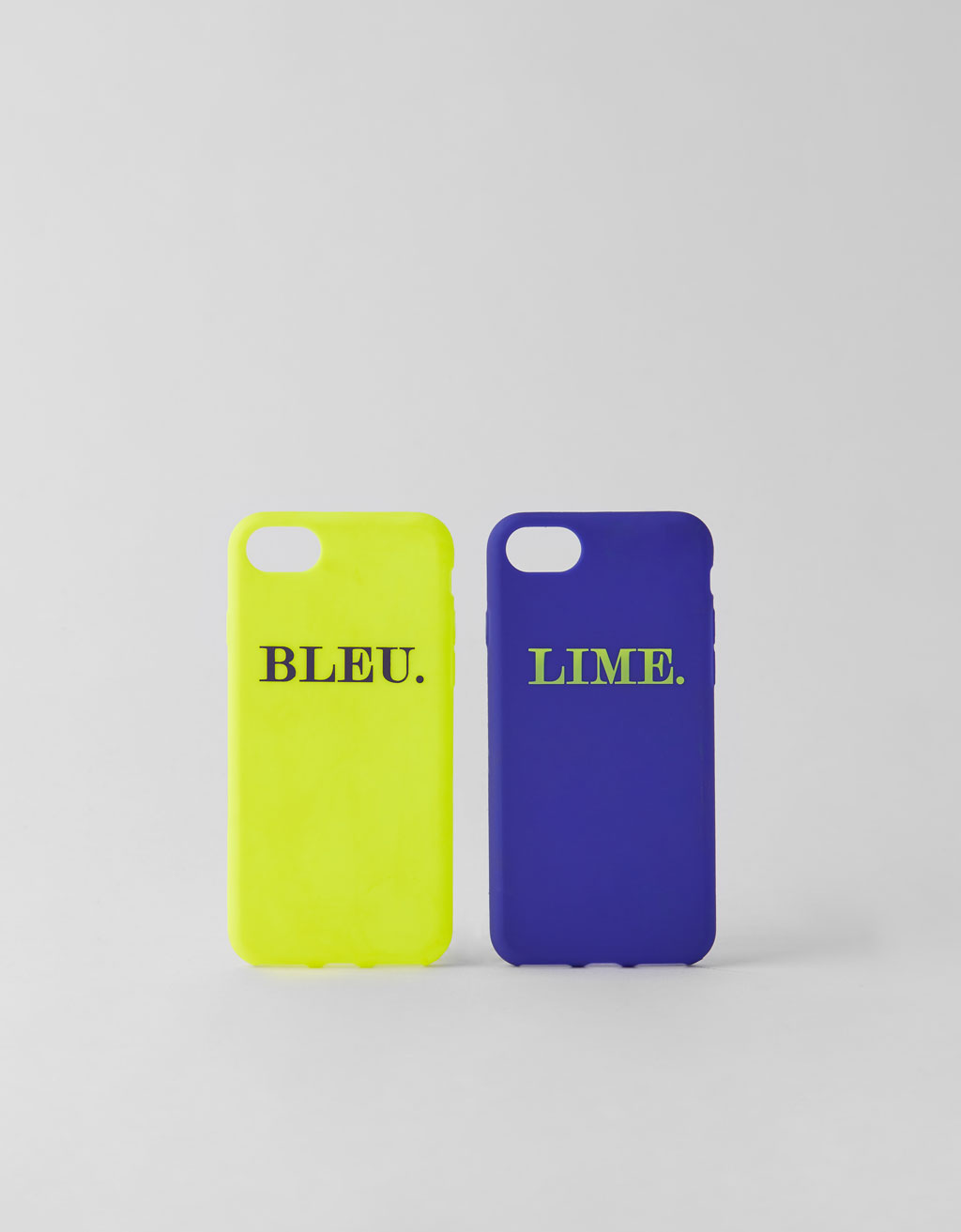 Hoesje voor iPhone 6/6S/7/8 (2 pack)