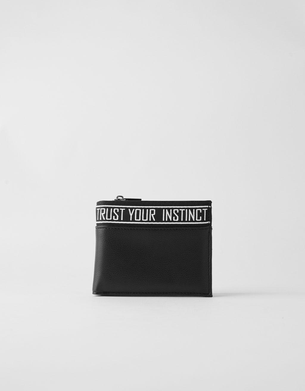 Kombinerad plånbok i läderimitation
