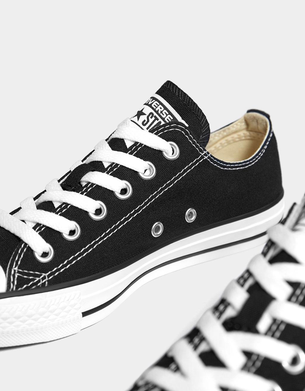 cc3ac6f62f5 CONVERSE CHUCK TAYLOR ALL STAR canvas sneakers - SHOES - Bershka ...