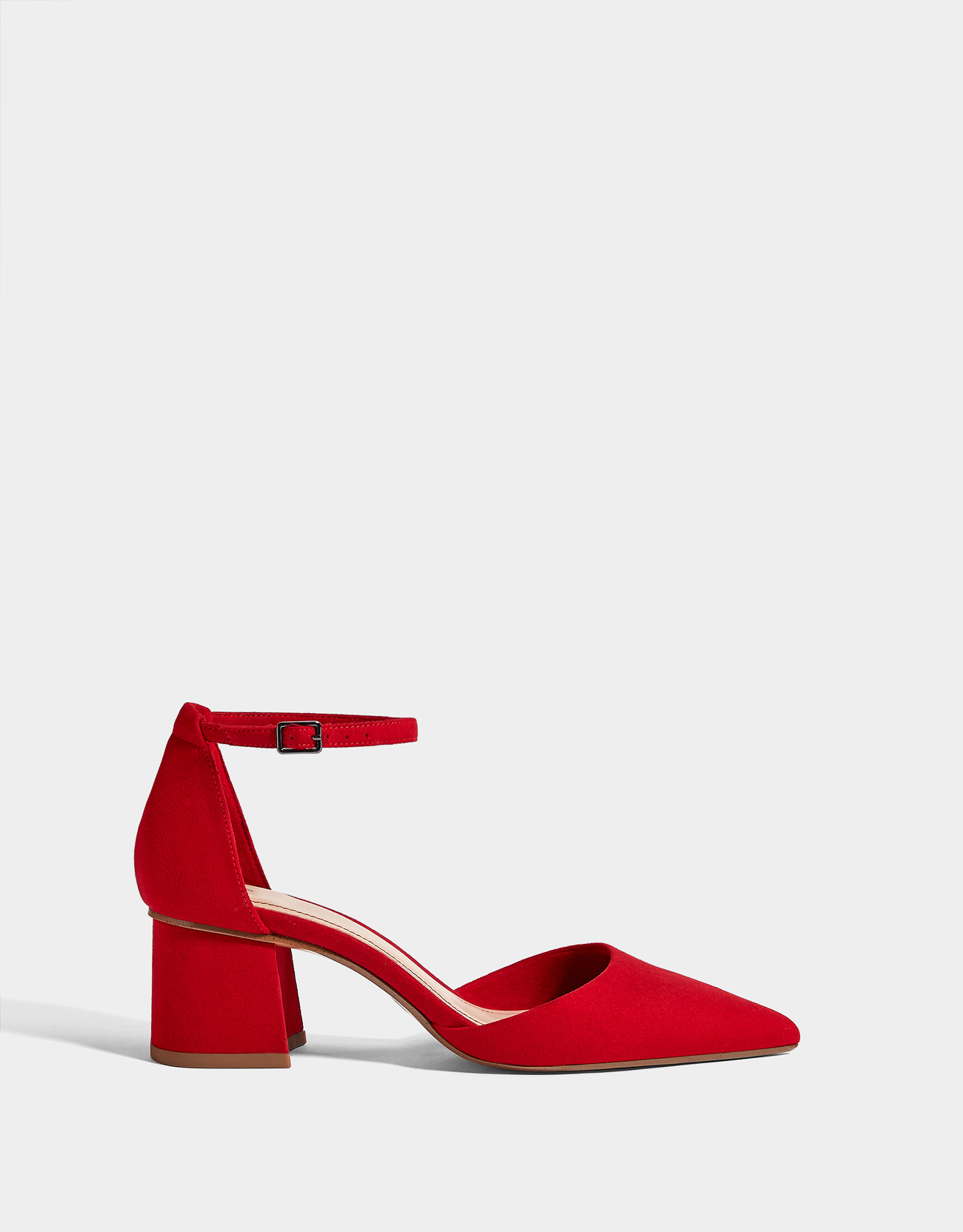 6782fd51127 Red mid-heel shoes
