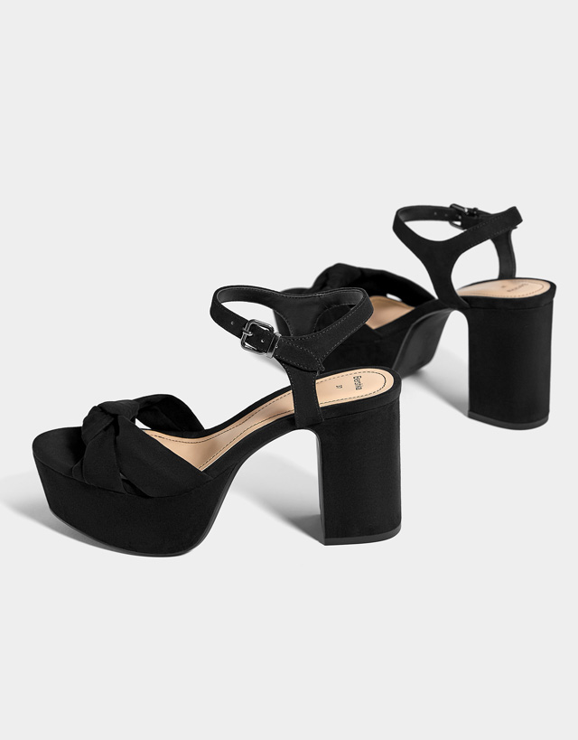 Wedges and Platforms - Shoes - COLLECTION - WOMEN - Bershka Slovenia 3db0248ba