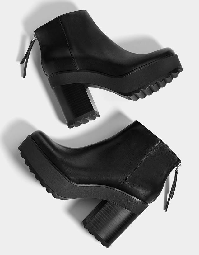 Wedges - Shoes - SALE - WOMEN - Bershka Slovenia d2e1f7da3