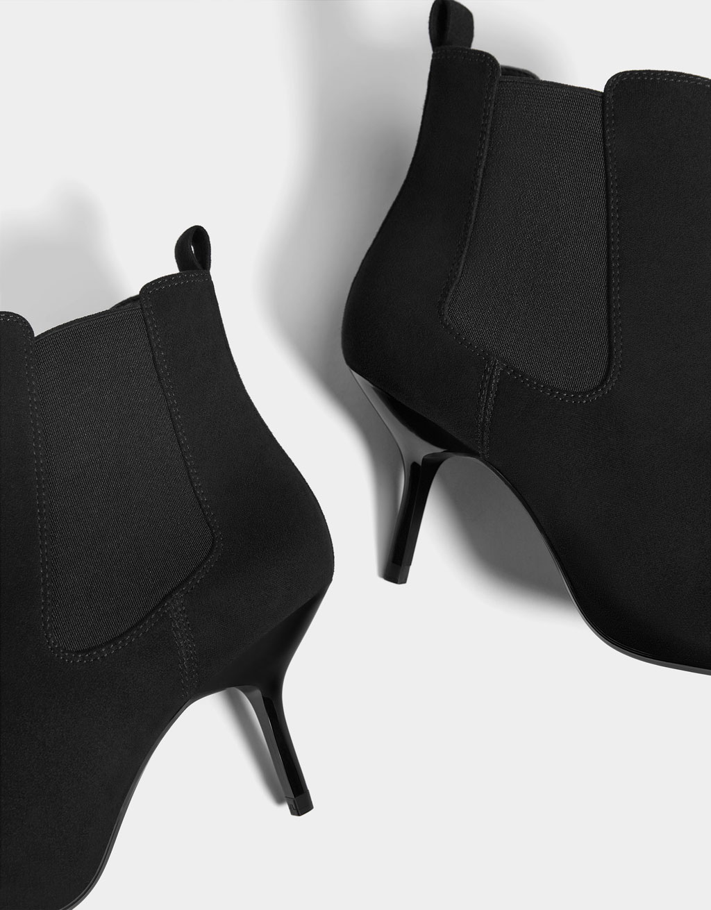 c8ae3c08f784 Stretch high-heel ankle boots - Boots   Ankle boots - Bershka ...