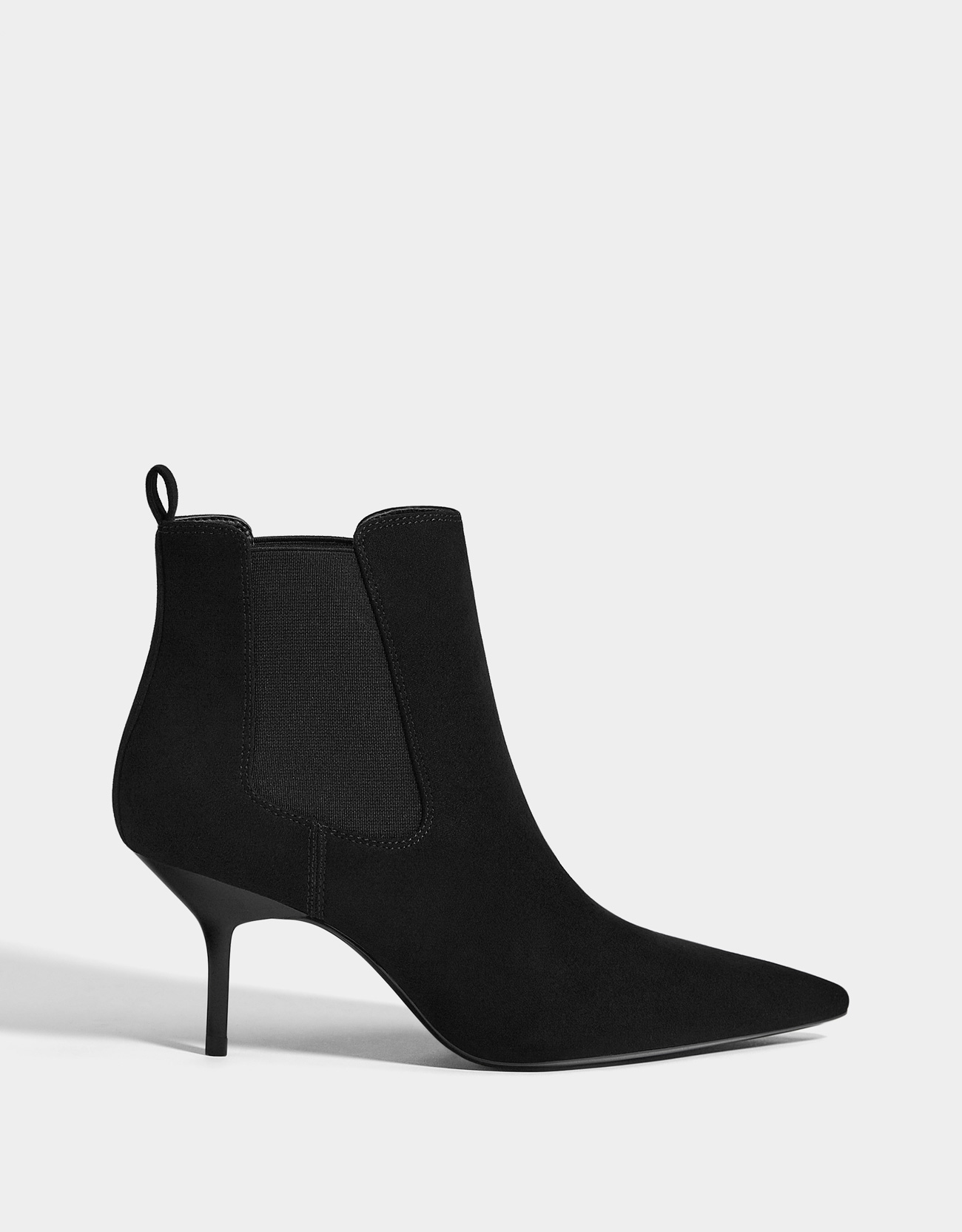 a0dfb0505d2e Stretch high-heel ankle boots - Micro Site Influencer - Bershka ...