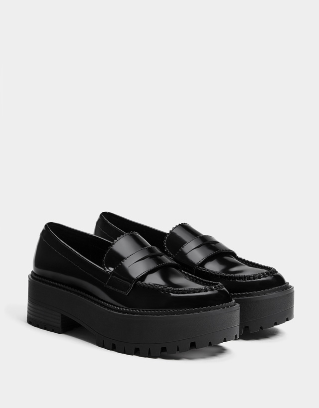 Flats - Shoes - COLLECTION - WOMEN - Bershka Jordan edd4c74aa