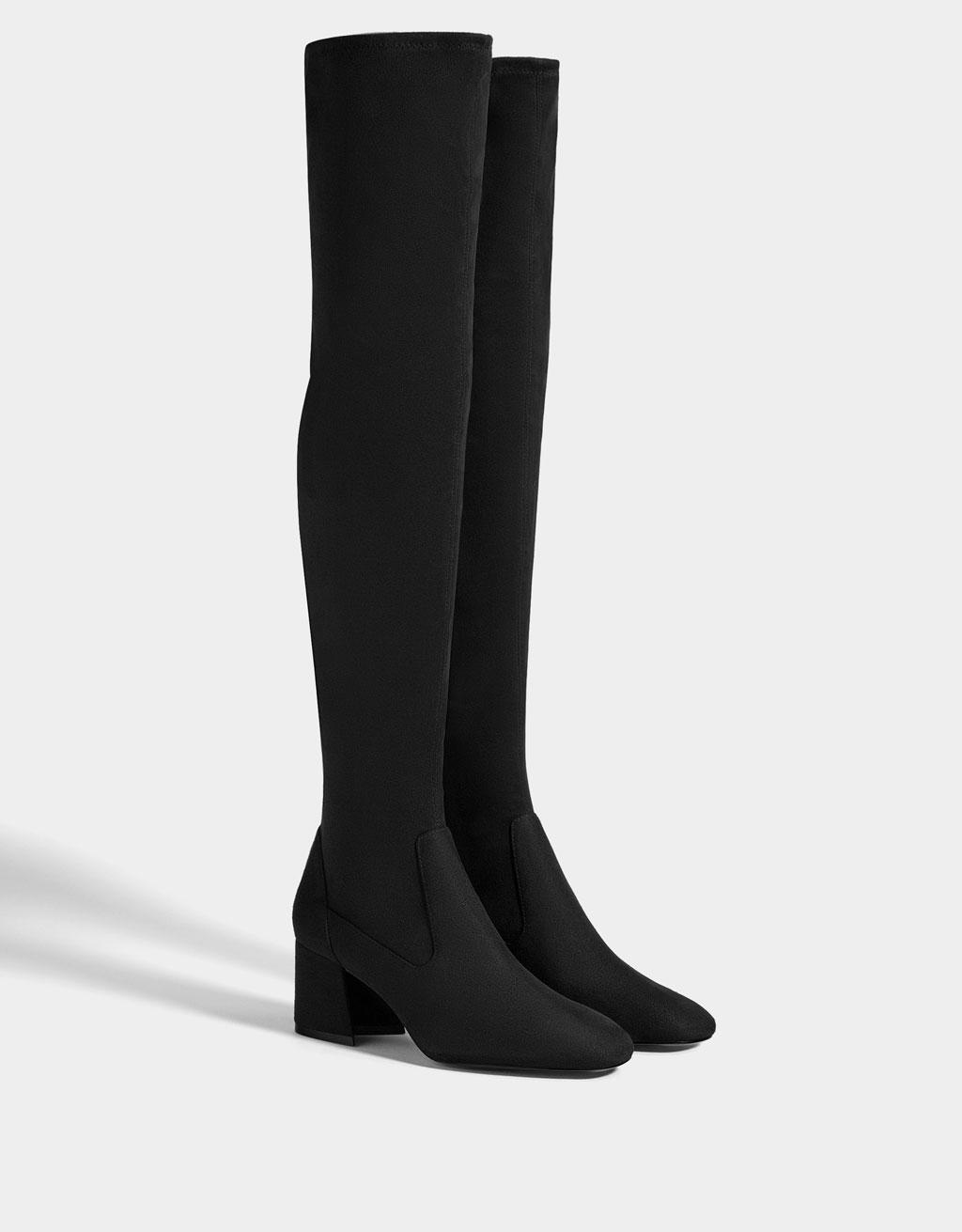 Mid-heel boots