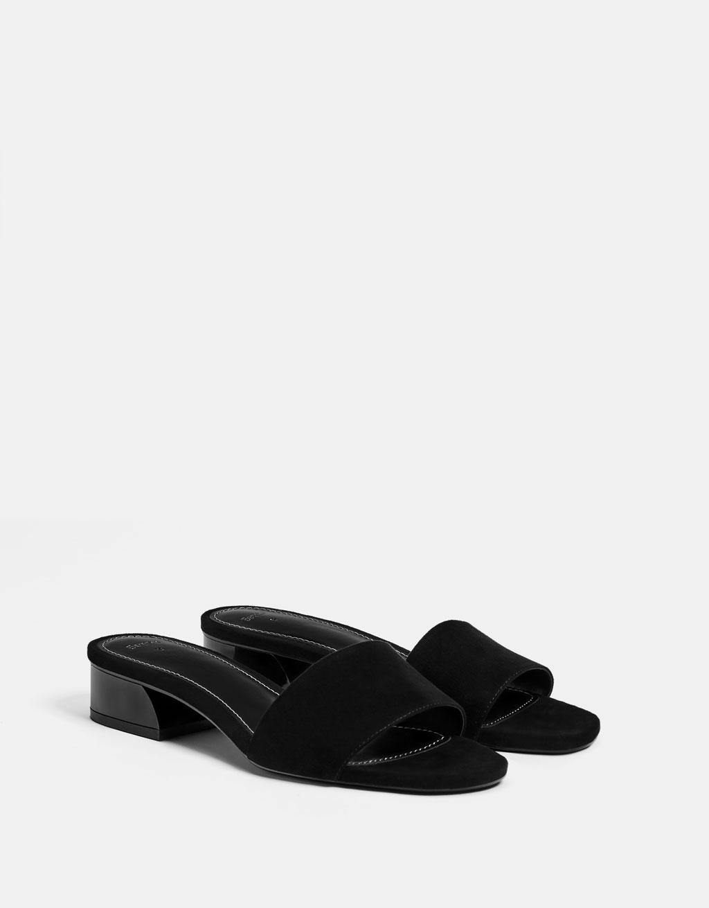 Orta boy topuklu terlik