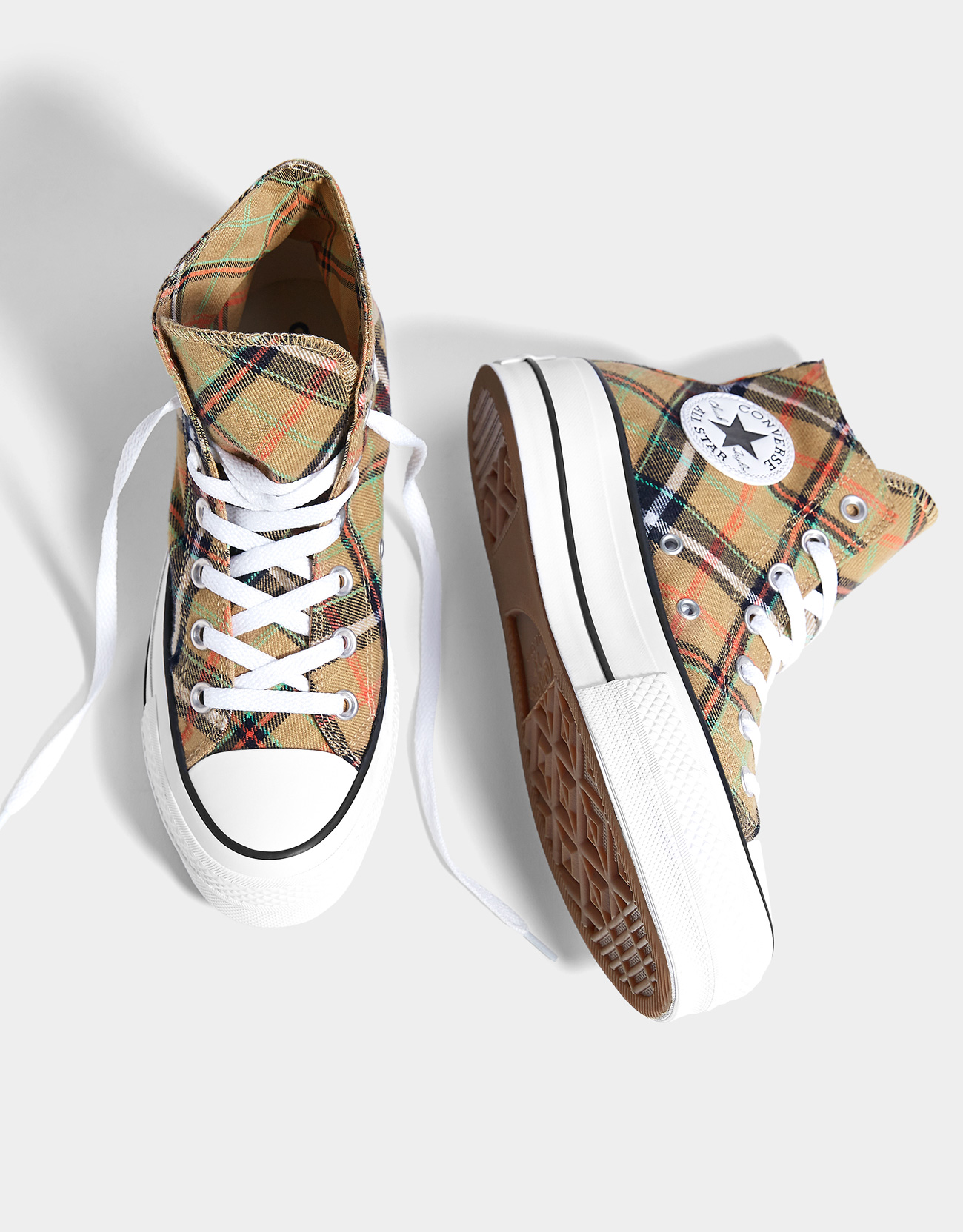 3b0e57267b5 CONVERSE CHUCK TAYLOR ALL STAR platform high-top trainers - Trainers ...