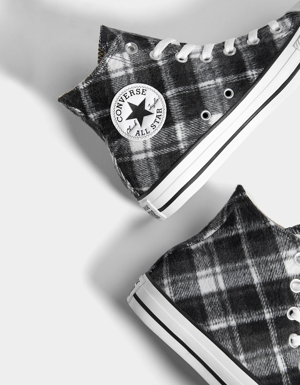 0d931a0e3 CONVERSE CHUCK TAYLOR ALL STAR High-top trainers - Boots & Ankle boots - Bershka  Switzerland