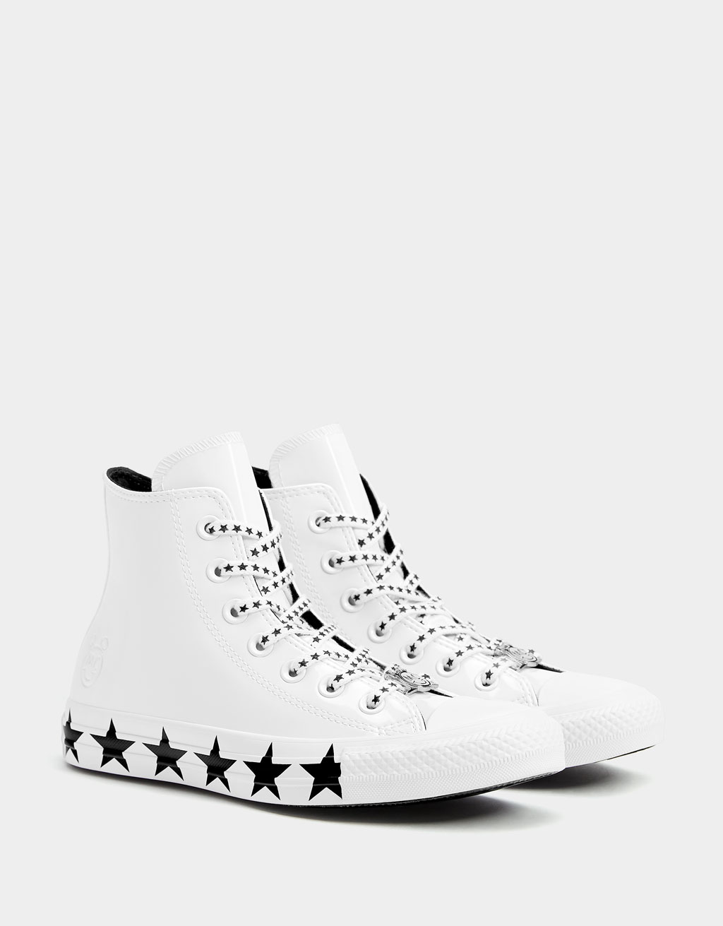 CONVERSE X MILEY CYRUS high-top trainers