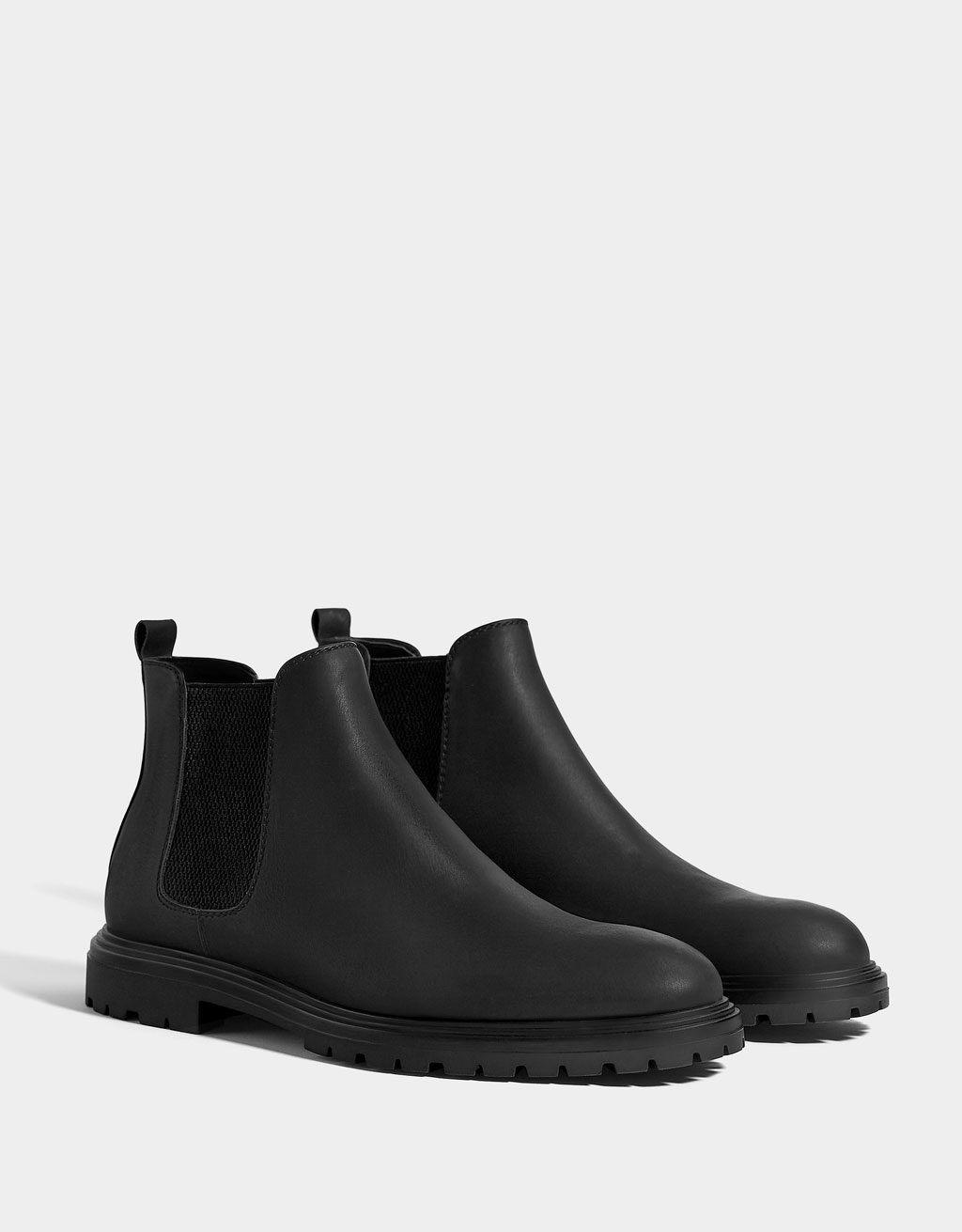 Men's dress stretch ankle boots