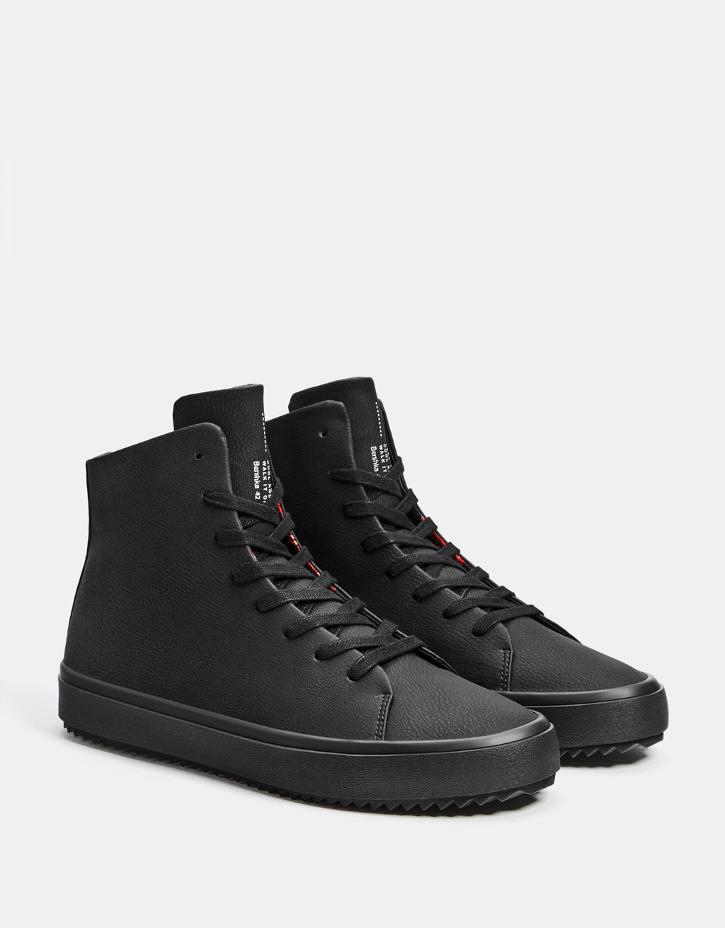 Men's high top trainers
