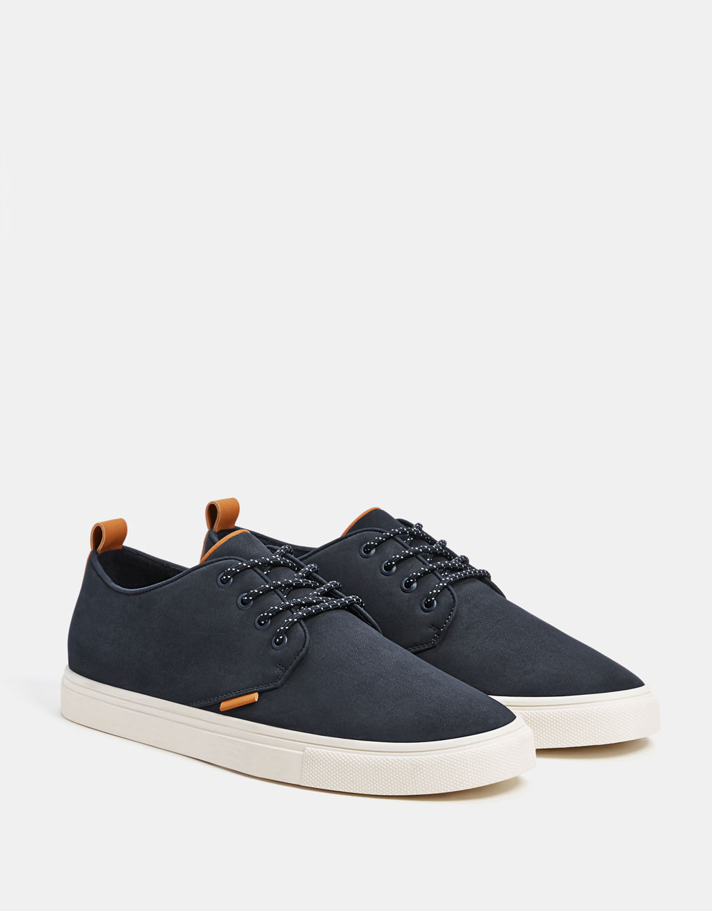 Men's blue smart trainers