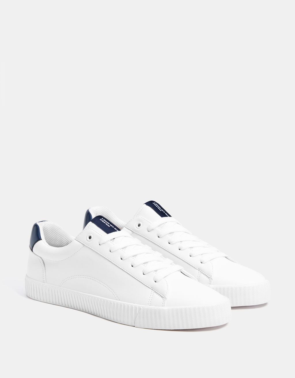 Men's contrasting trainers