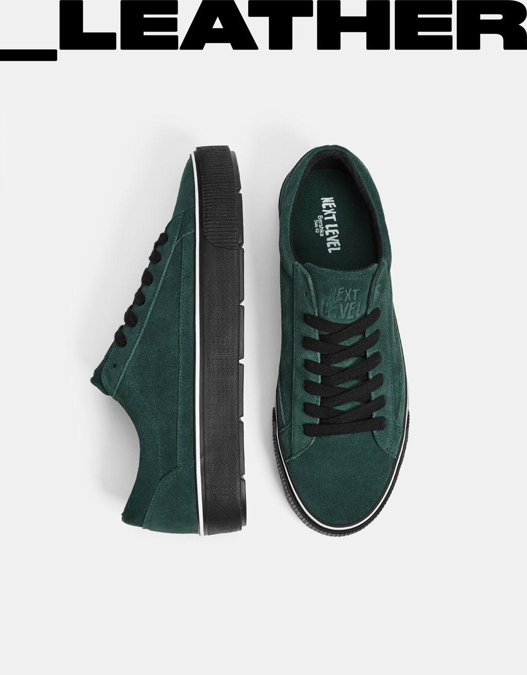 Pánské kožené lehké boty