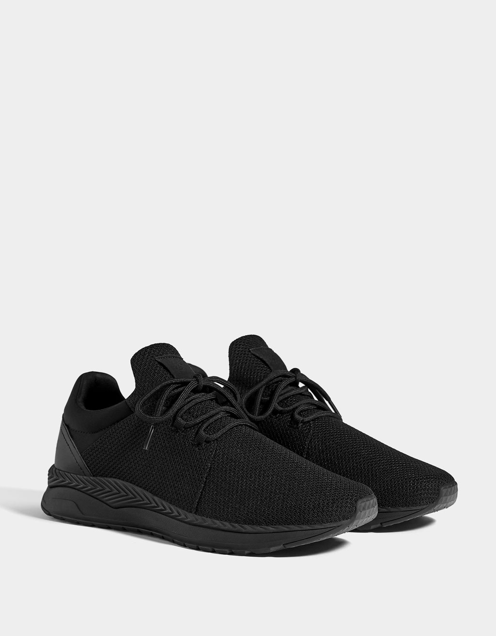 Men's mesh sock-style sneakers
