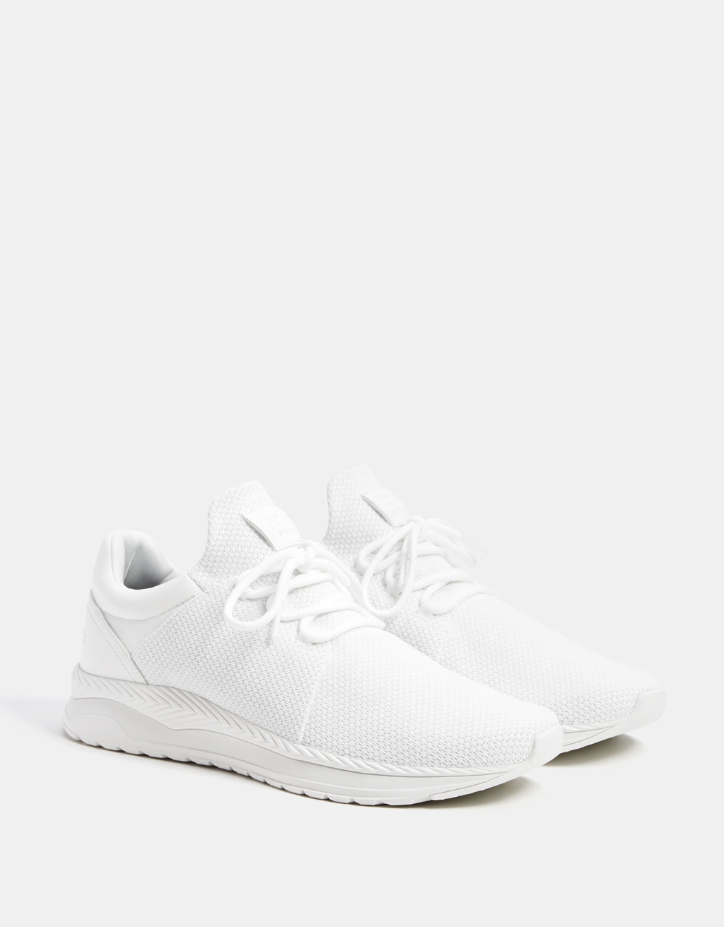 Sneaker mit Socken- und Netzeinsatz für Herren