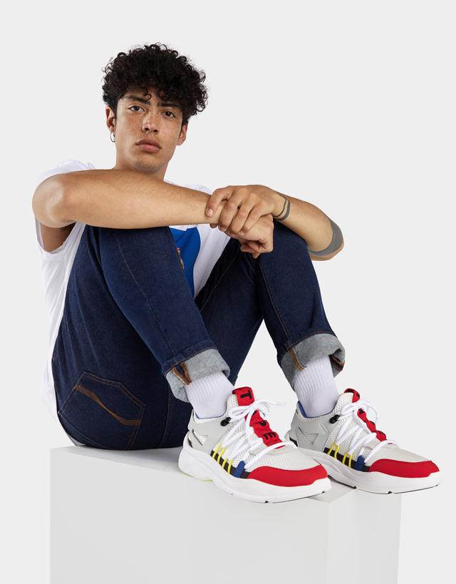 Zusammengesetzte Dad-Sneaker