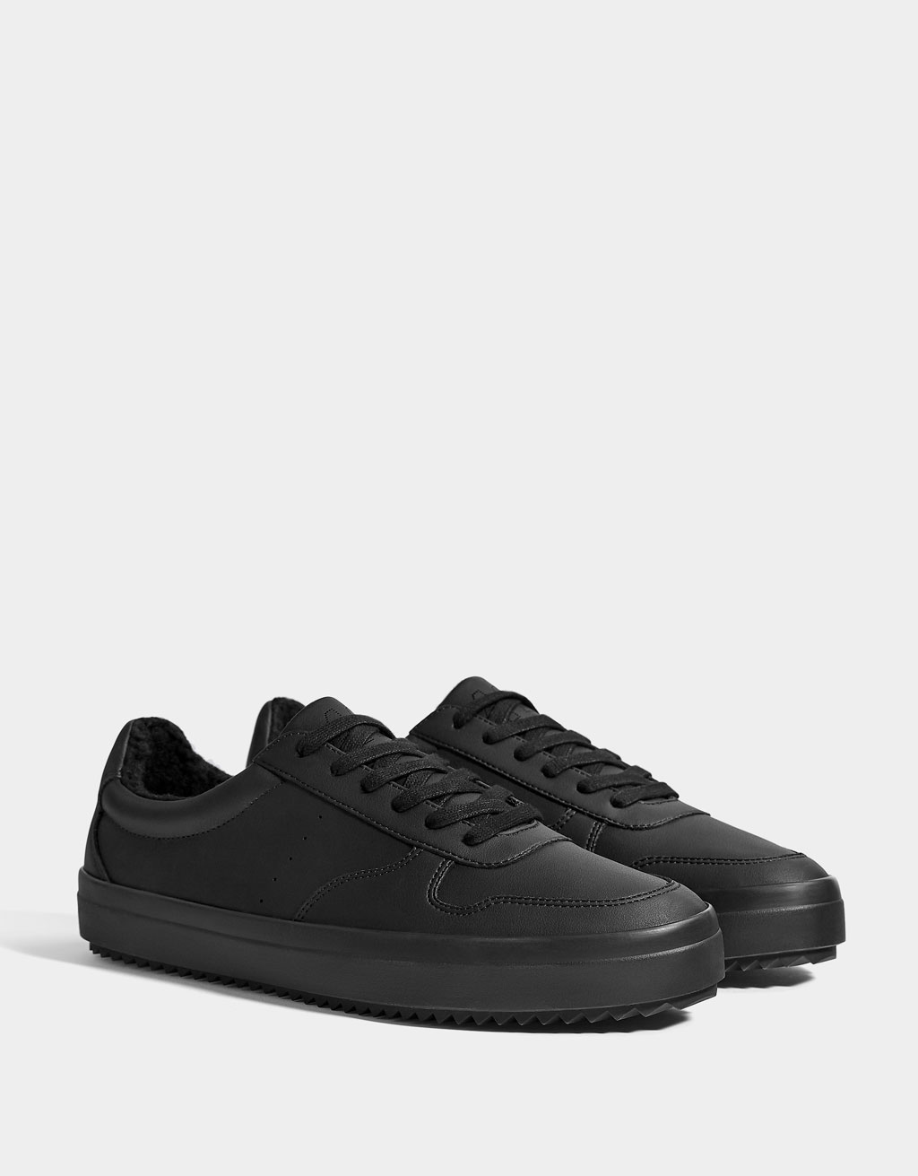 Men's lined sneakers