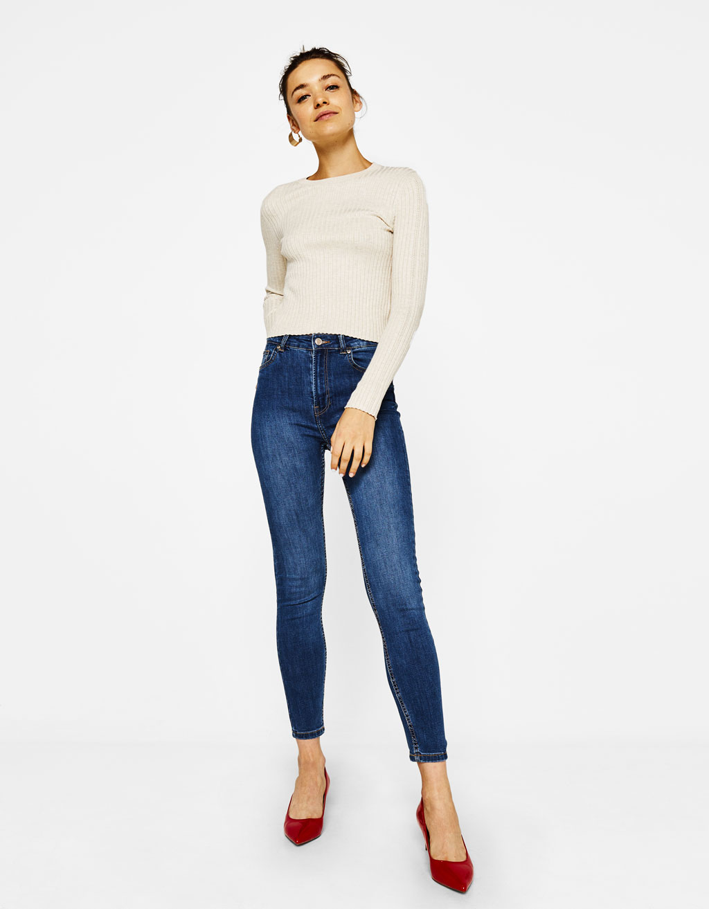 Pantalón Skinny Fit High Waist