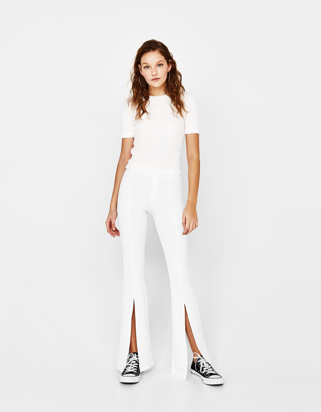 Pantalon coupe flare
