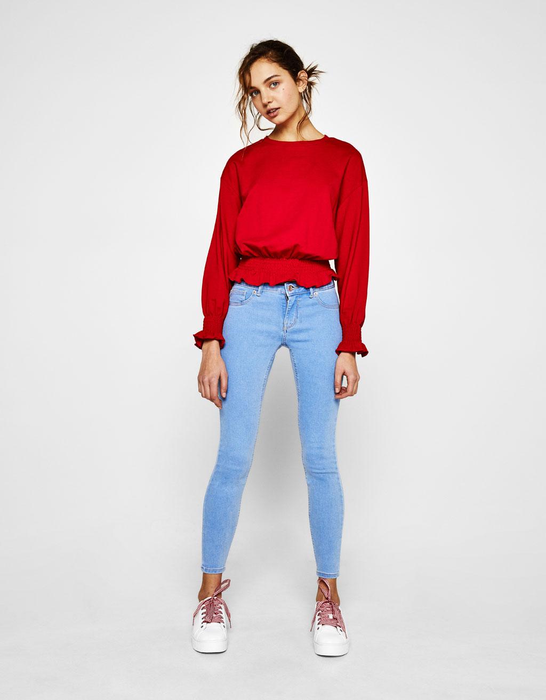 Skinny push-up jeans